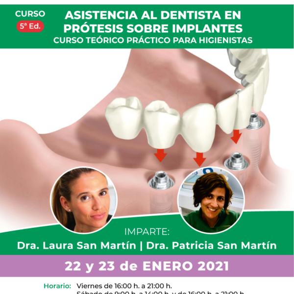 curso asistencia prótesis dentales
